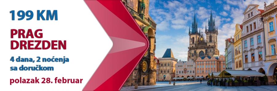Prag - Drezden, 28. februar