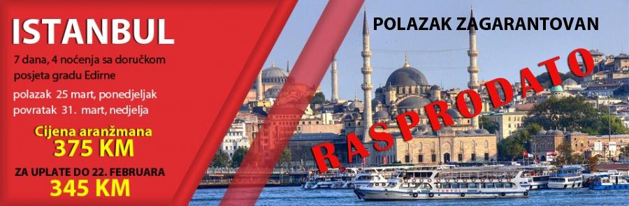 Istanbul, 25.mart